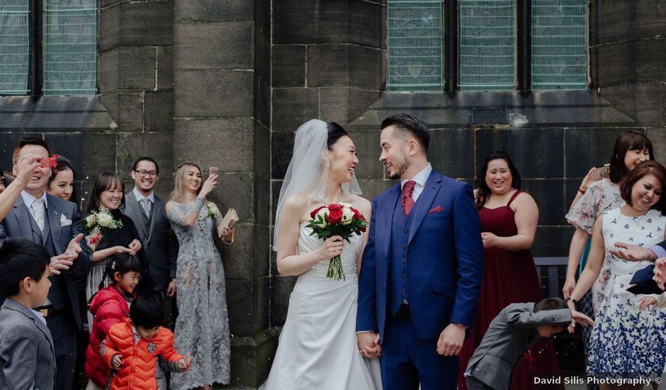 Mike and Jessica's wedding in Manchester, Greater Manchester