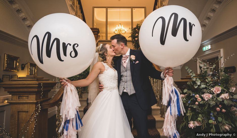 Nick and Jess's wedding in Standish, Lancashire