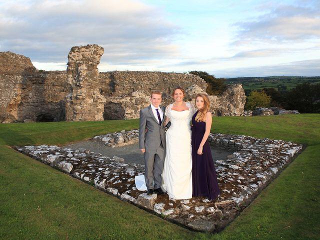 Andrew and Sonia's wedding in Denbigh, Denbighshire 7