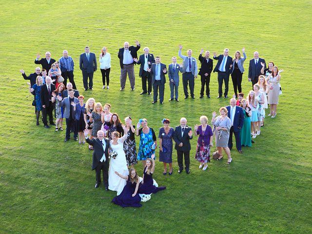 Andrew and Sonia's wedding in Denbigh, Denbighshire 1