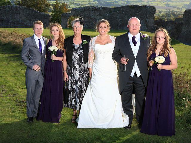 Andrew and Sonia's wedding in Denbigh, Denbighshire 8