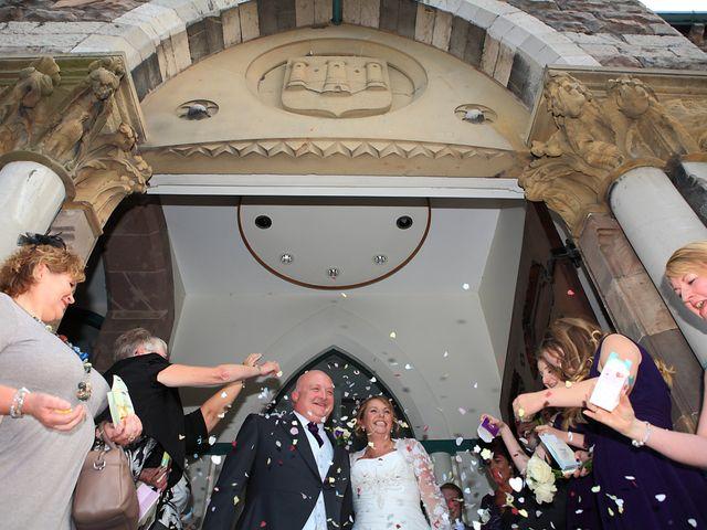 Andrew and Sonia's wedding in Denbigh, Denbighshire 9