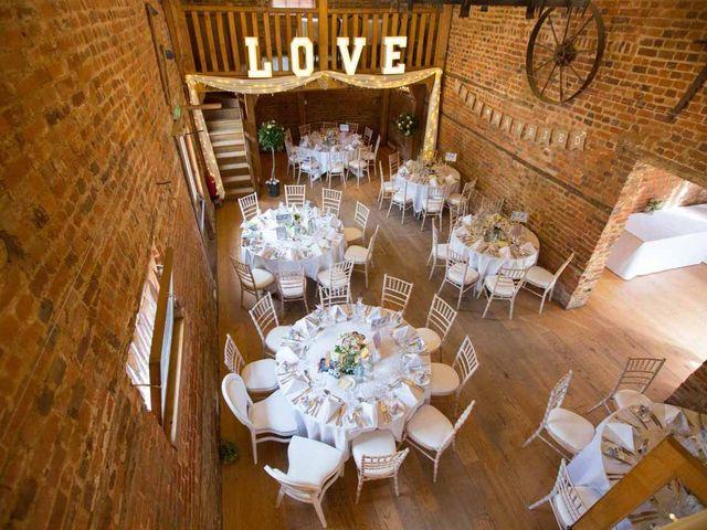 Ollie and Nat's wedding in Welwyn Garden City, Hertfordshire 2
