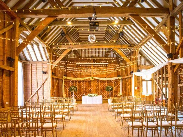 Ollie and Nat's wedding in Welwyn Garden City, Hertfordshire 8