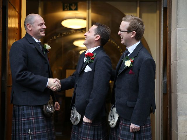 Craig and Linzi's wedding in Edinburgh, City of Edinburgh 4