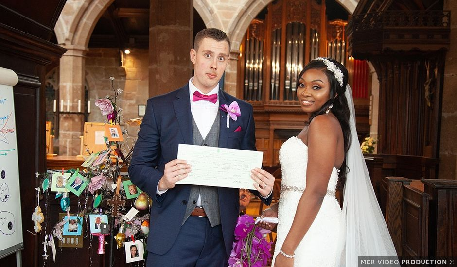 Bobby and Jessie's wedding in Manchester, Greater Manchester