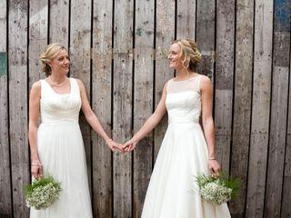 Claire & Rachel's wedding