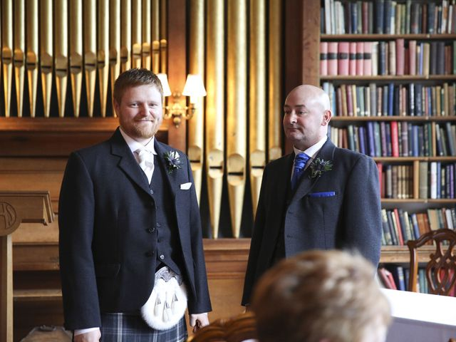 George and Emma's wedding in Musselburgh, Midlothian 7