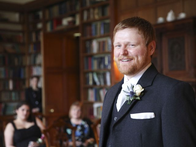 George and Emma's wedding in Musselburgh, Midlothian 8