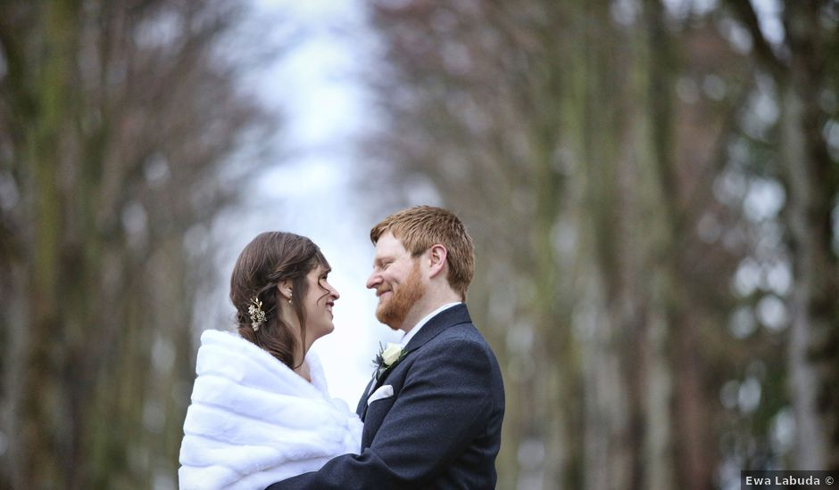 George and Emma's wedding in Musselburgh, Midlothian