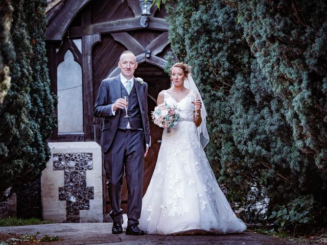 Martyn and Stacey's wedding in Hitchin, Hertfordshire 1
