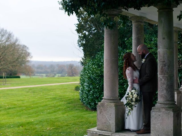 Adam and Fran's wedding in Heckfield, Hampshire 2