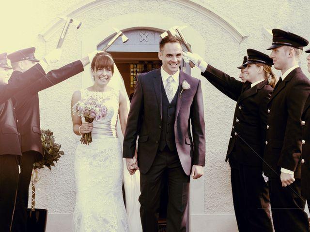 Graham and Una's wedding in Belfast, Belfast 1
