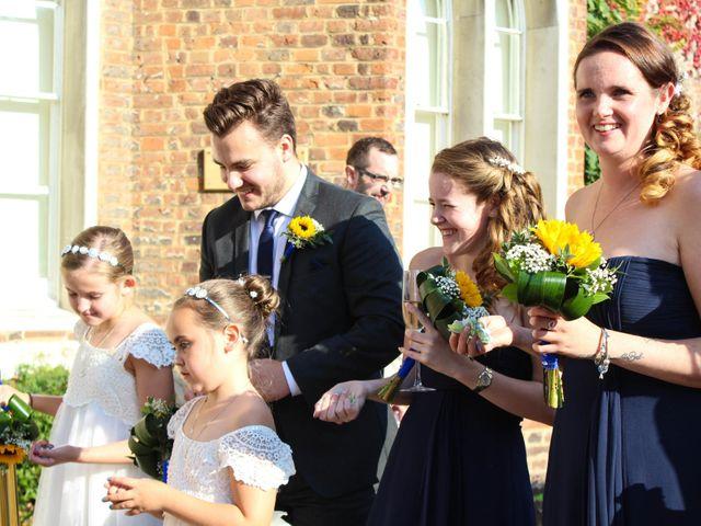 Jason and Lisa's wedding in Hertford, Hertfordshire 2