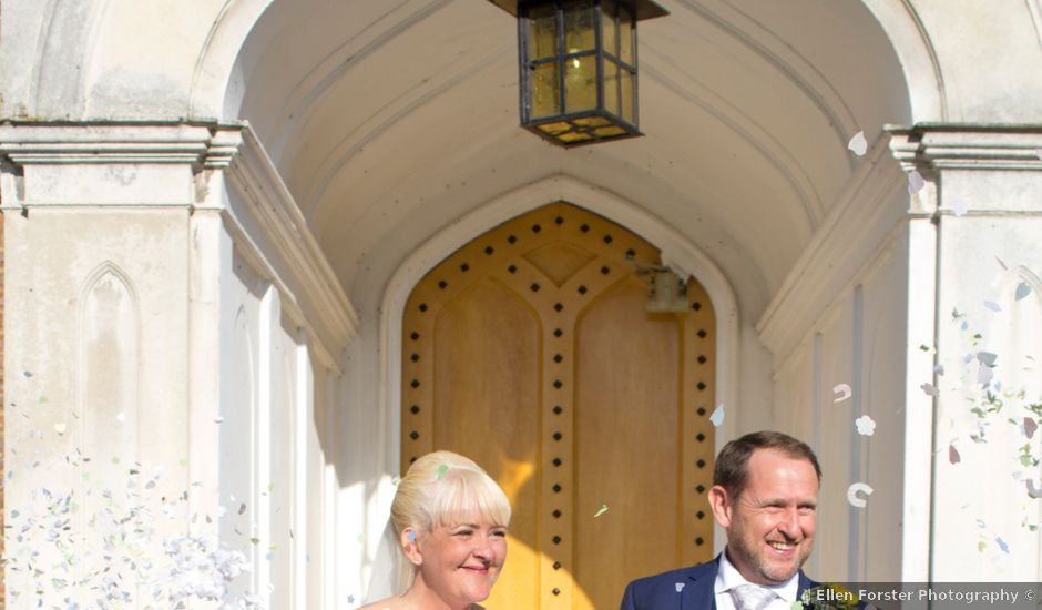 Jason and Lisa's wedding in Hertford, Hertfordshire