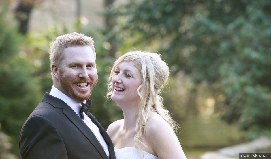 Aaron and Dena's wedding in Bonnyrigg, Midlothian