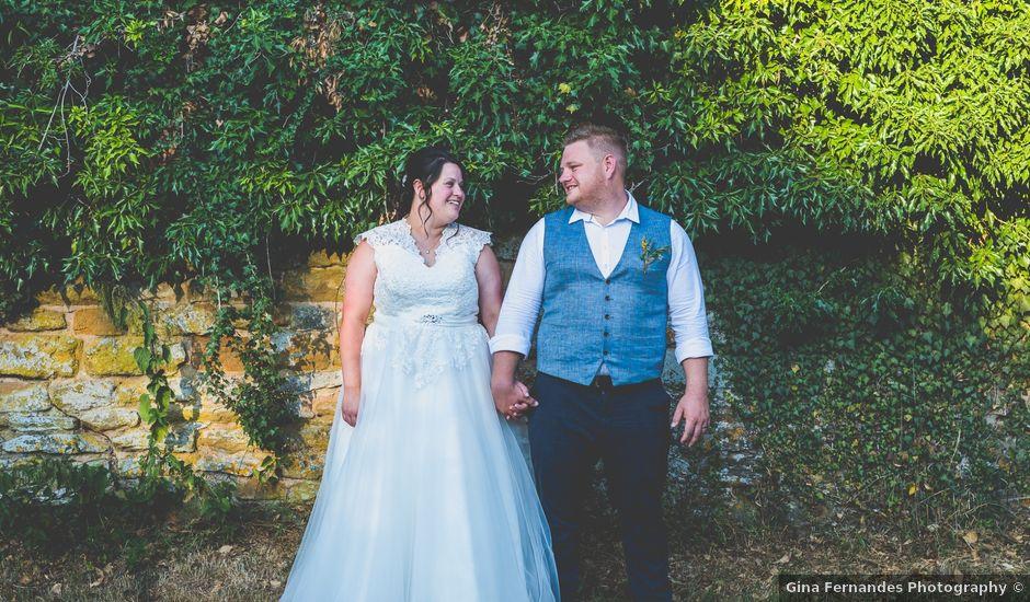 Michelle and Ian's wedding in Oakham, Rutland