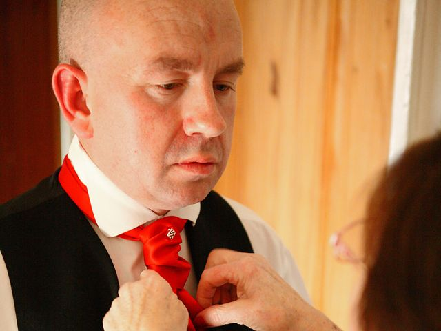 David and Lyndsey's wedding in Llanfairynghornwy, Isle of Anglesey 8