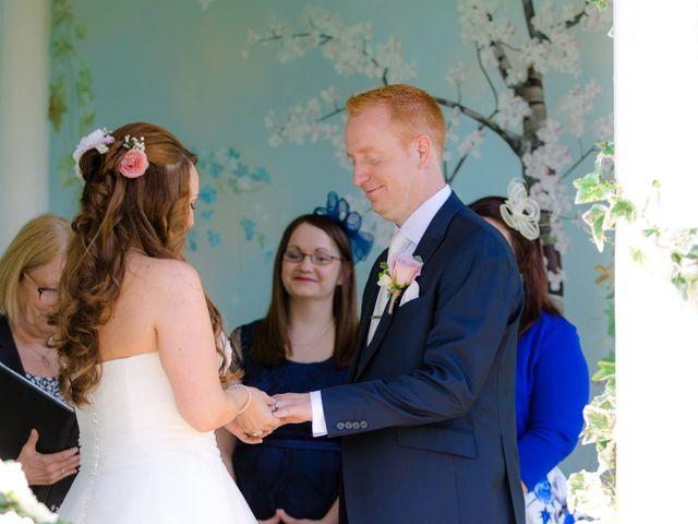 Rob and Hannah's wedding in Aldermaston, Berkshire 3