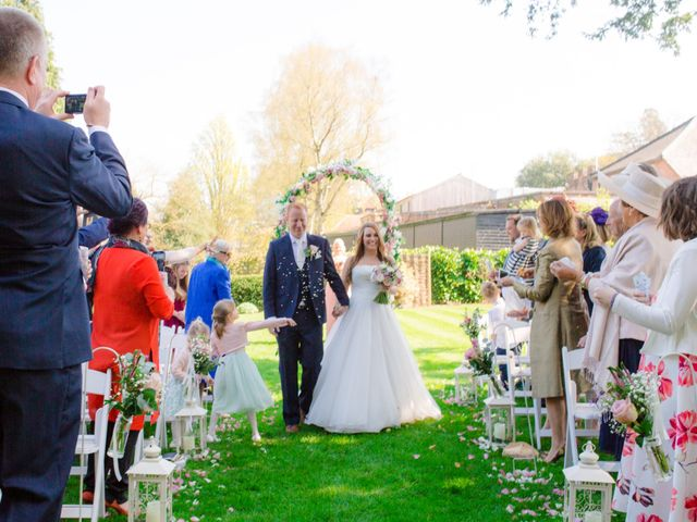 Rob and Hannah's wedding in Aldermaston, Berkshire 4