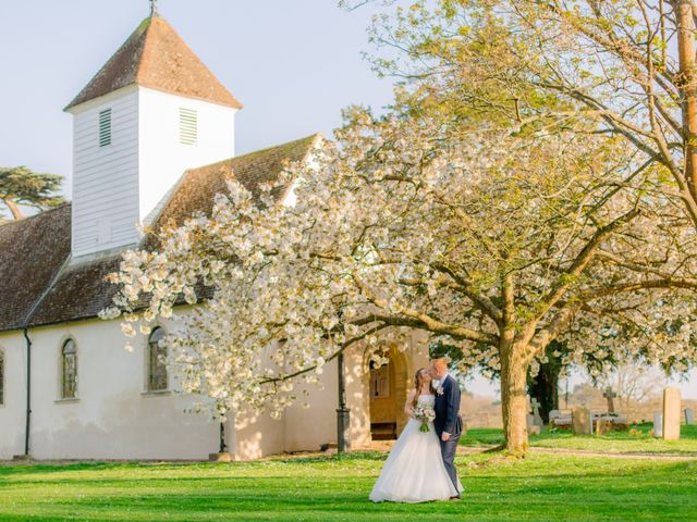 Rob and Hannah's wedding in Aldermaston, Berkshire 8