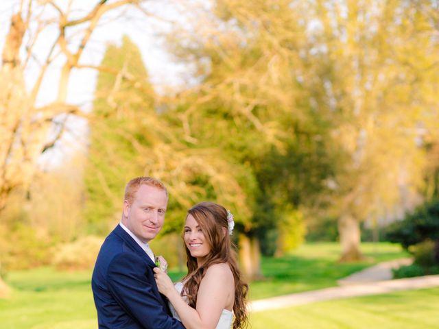 Rob and Hannah's wedding in Aldermaston, Berkshire 1