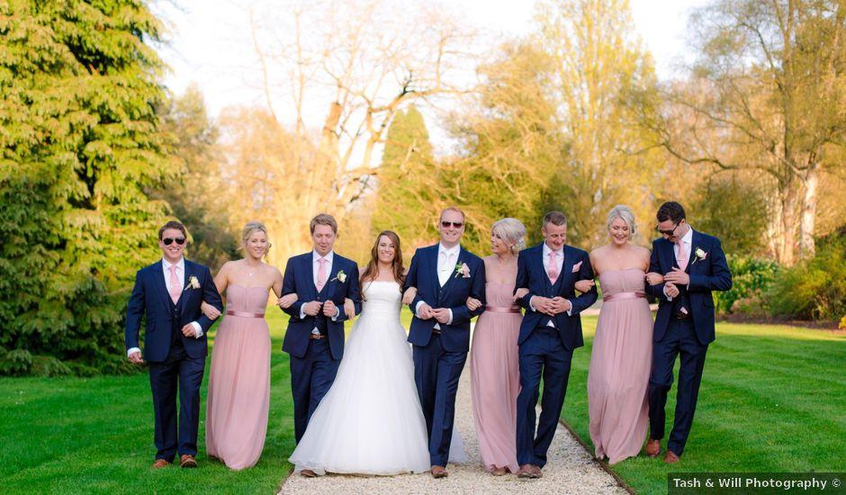 Rob and Hannah's wedding in Aldermaston, Berkshire