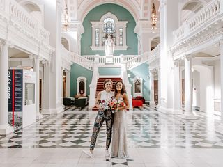 Liz & Dr Jo's wedding