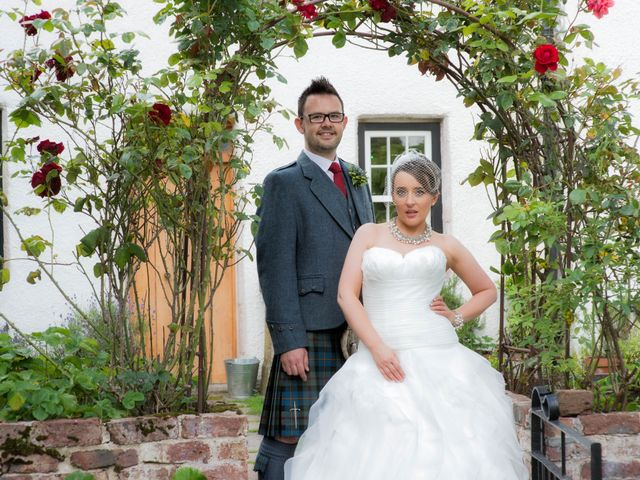 James and Jenni's wedding in Pitcaple, Aberdeenshire 2