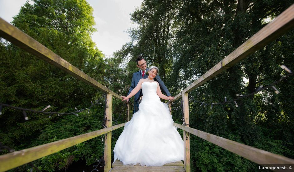 James and Jenni's wedding in Pitcaple, Aberdeenshire