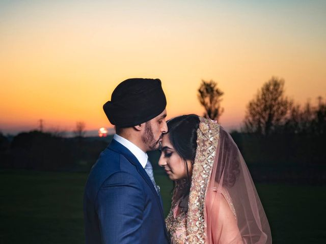 Neesha and Avraj's wedding in Birmingham, West Midlands 3