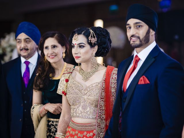 Neesha and Avraj's wedding in Birmingham, West Midlands 4
