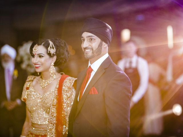 Neesha and Avraj's wedding in Birmingham, West Midlands 10