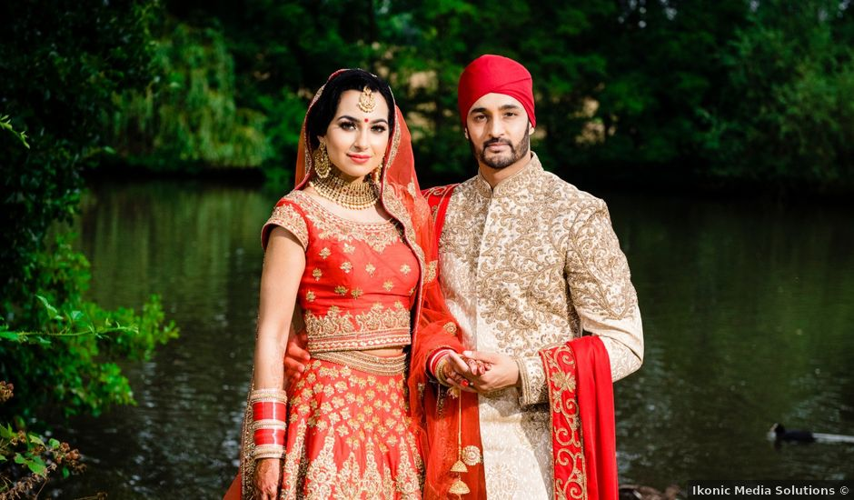 Neesha and Avraj's wedding in Birmingham, West Midlands