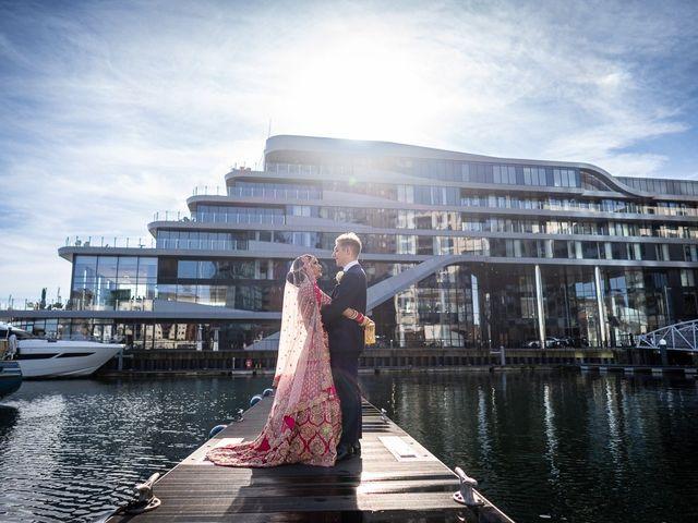 Sunita & Huw's wedding