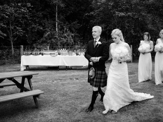 Lee and Sarah's wedding in Banchory, Aberdeenshire 3