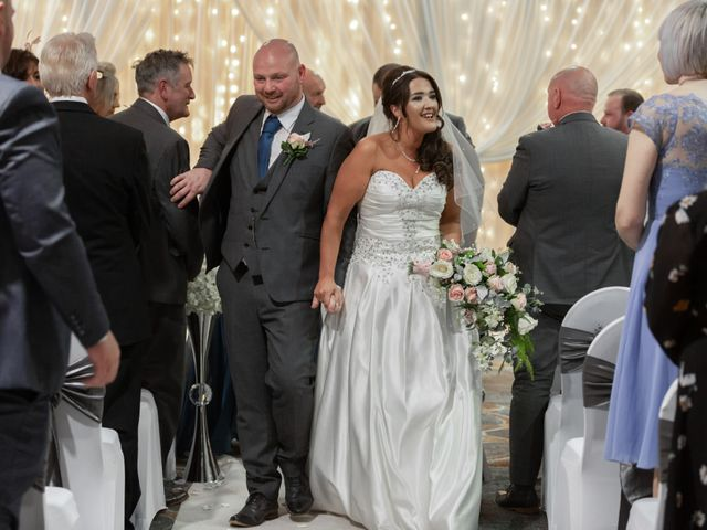 Jim and Laura's wedding in Belfast, Castlereagh 1