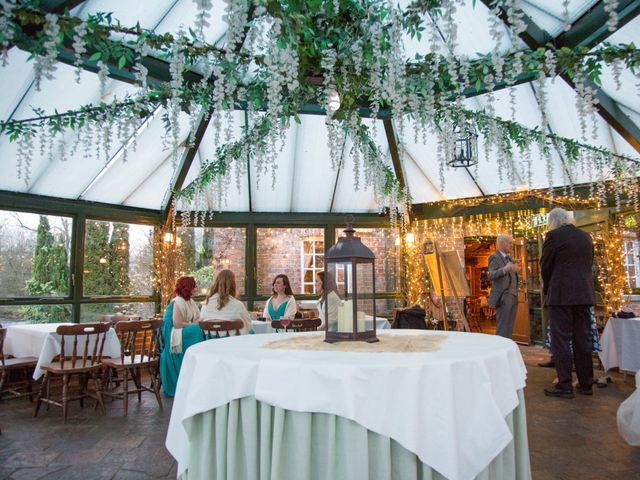 Melanie and Liam's wedding in Aldermaston, Berkshire 3