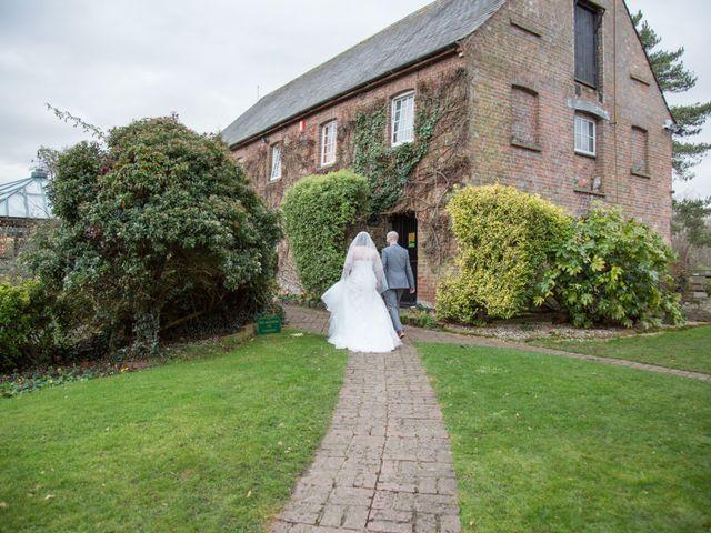 Melanie and Liam's wedding in Aldermaston, Berkshire 7
