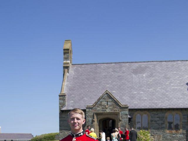 Joseph and Angharad's wedding in Trearddur Bay, Isle of Anglesey 9