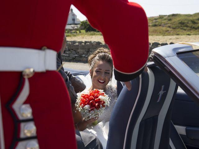 Joseph and Angharad's wedding in Trearddur Bay, Isle of Anglesey 10