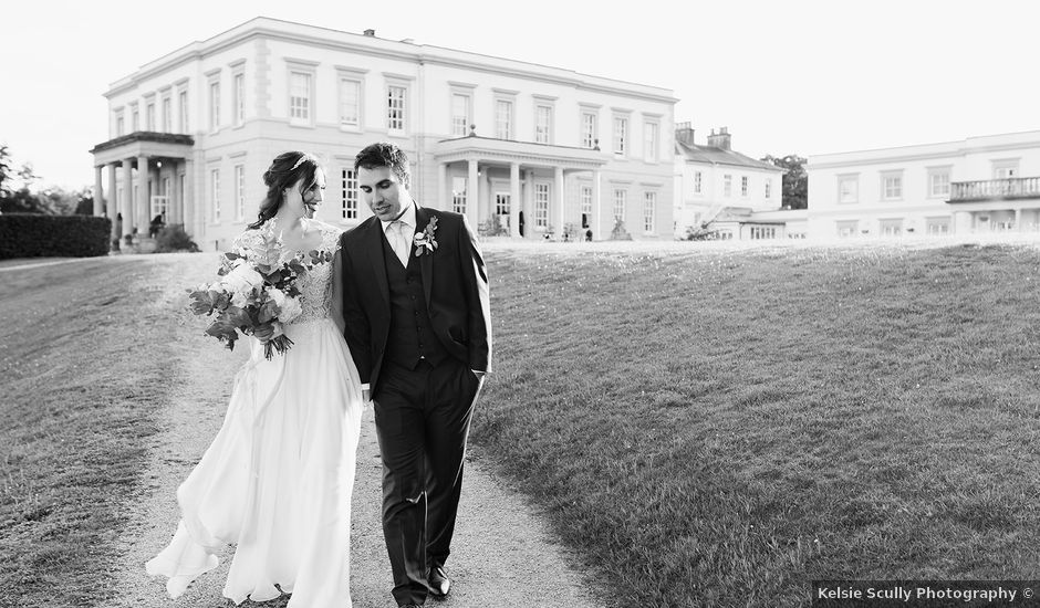 Mike and Rebecca's wedding in Uckfield, East Sussex