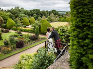 Richard and Lydia's wedding in Crathes, Aberdeenshire 3