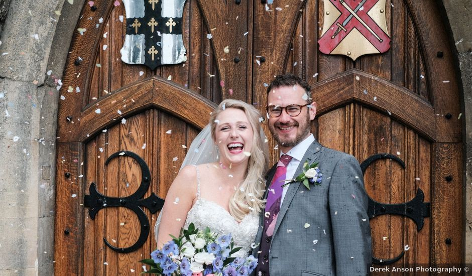 Simon and Gemma's wedding in Waltham Abbey, Hertfordshire