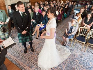Alistair and Sophie's wedding in Banchory, Aberdeenshire 3
