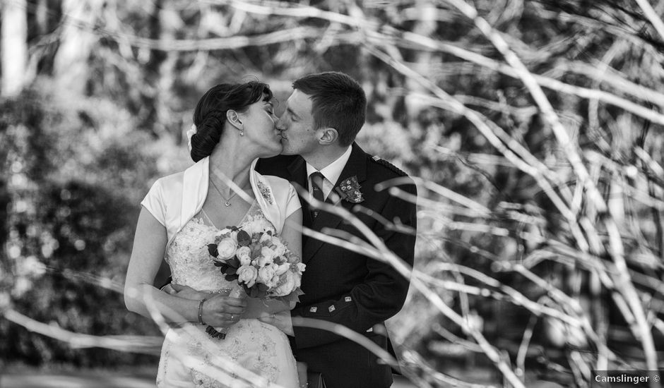 Alistair and Sophie's wedding in Banchory, Aberdeenshire