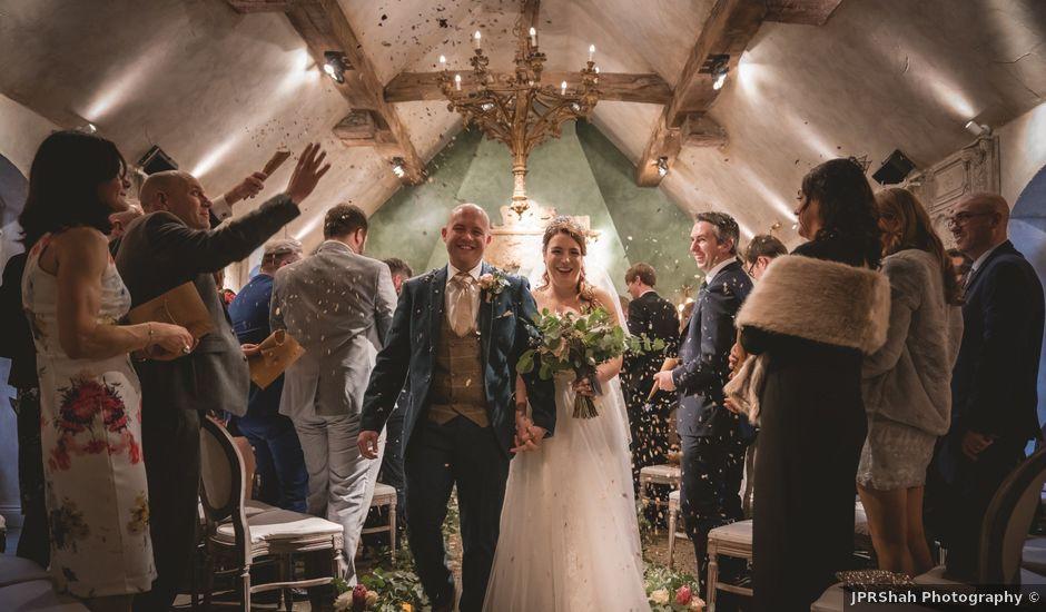 Dave and Rachel's wedding in Otterburn, Northumberland