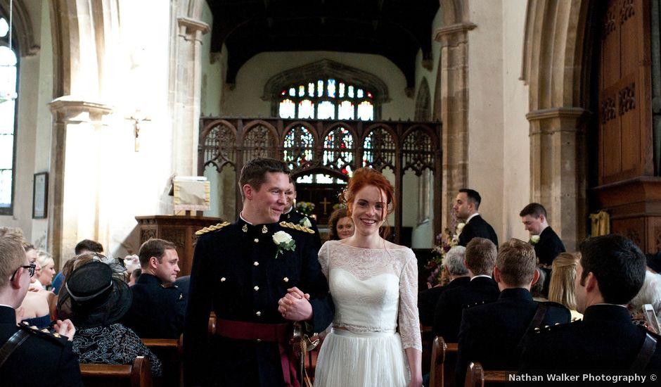 Mim and Graeme's wedding in Kelham, Nottinghamshire