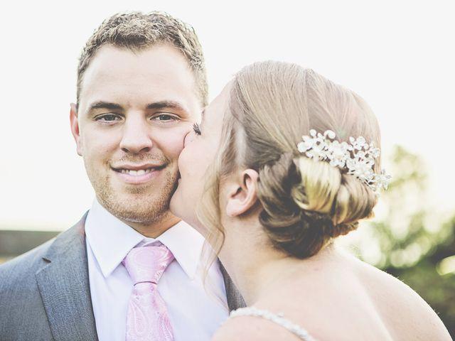 Josh and Siam's wedding in Bury St Edmunds, Suffolk 2