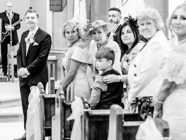 James and Natalie's wedding in Blackburn, Lancashire 7